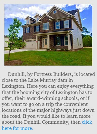 Information on the Dunhill Community in the Lake Murray/Lexington area.