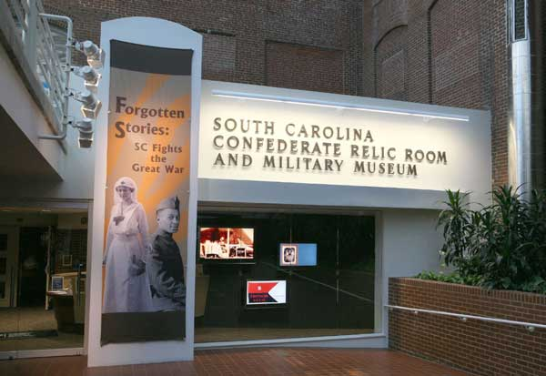 South Carolina Confederate Relic Room and Military History Museum